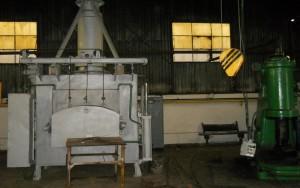 BAT Targoviste - Forja cuptor electric si ciocan pneumatic 300kgf