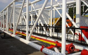 BAT Targoviste - Mast instalatie interventie