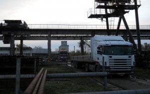 BAT Targoviste - Camioane descarcare material tubular